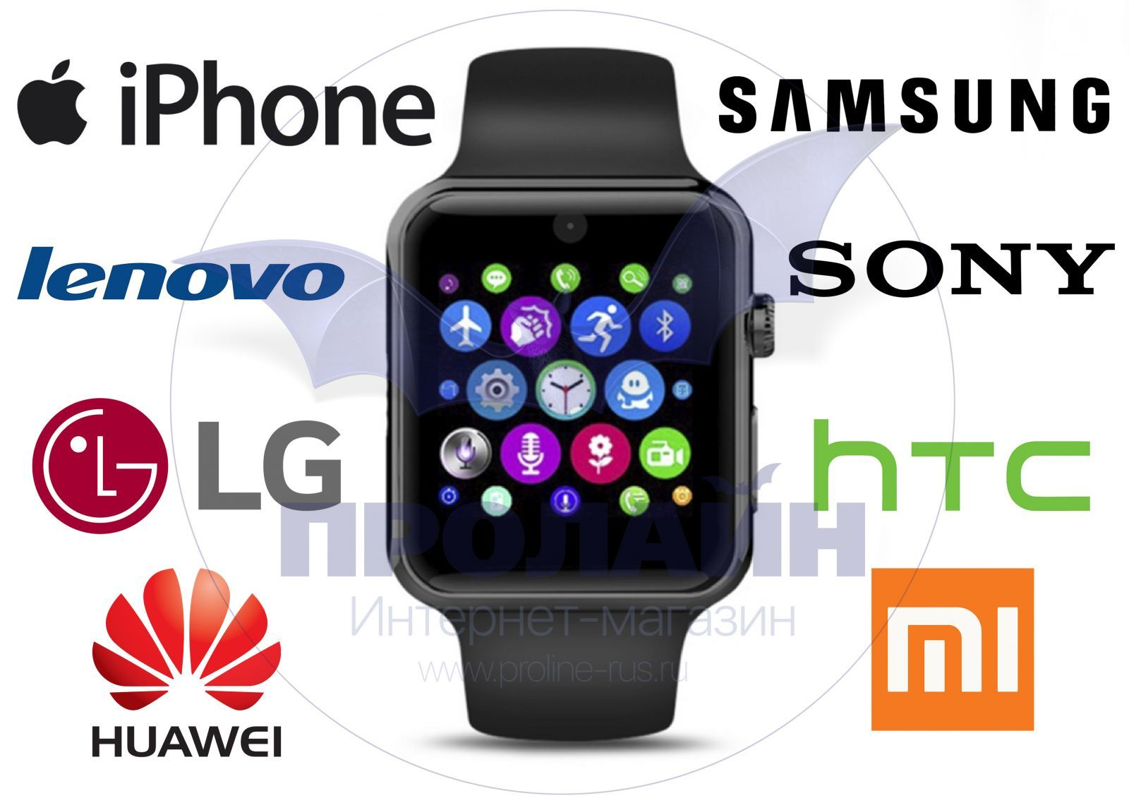 Smart Watch IWO 2 Gold Red