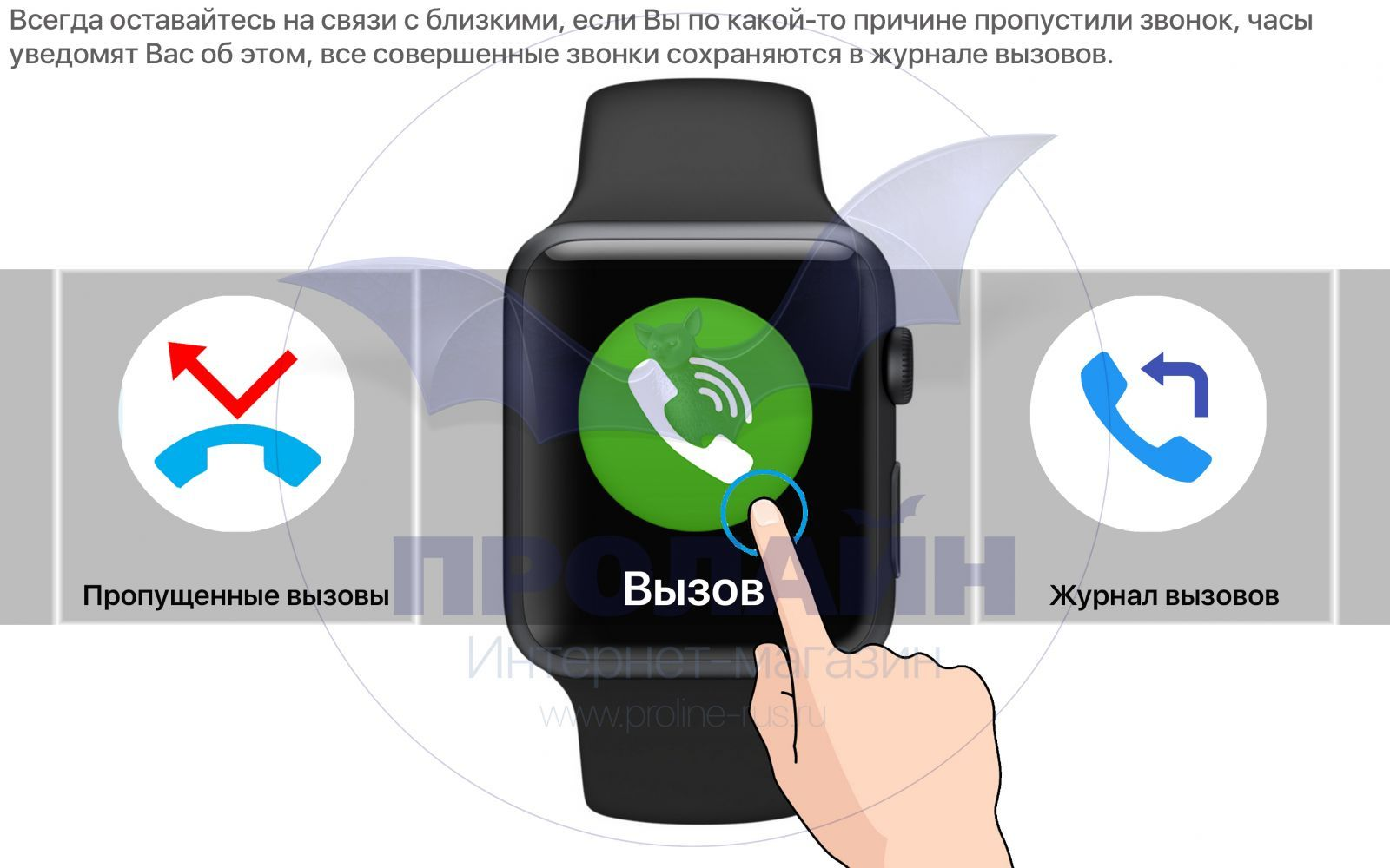 Smart Watch IWO 2 вызов