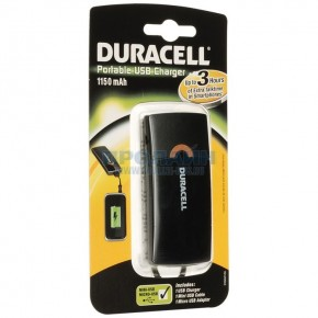 Duracell Portable USB Charger 1150mAh
