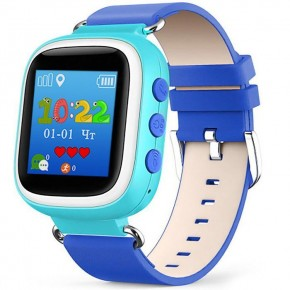 "Smart Baby Watch Q60 1.44"" Blue"