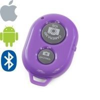 Bluetooth Remote Shutter Camera 360 (purple)
