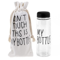 My Bottle 500ml Black